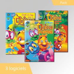 Pack Les Tibidous 3 cdroms...