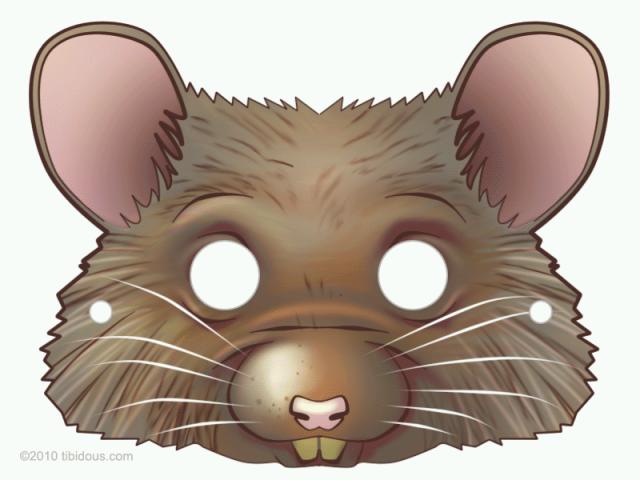 Masques imprimer masque de souris - Masque chauve souris a imprimer ...