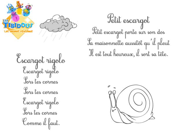 Coloriage Escargot Automne.Les Tibidous Site Pour Enfants Coloriages A Imprimer Pour Les